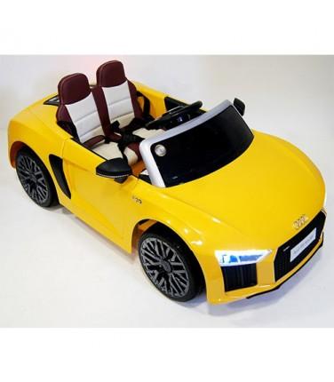 Детский электромобиль RiverToys Audi R8 Yellow | Купить, цена, отзывы