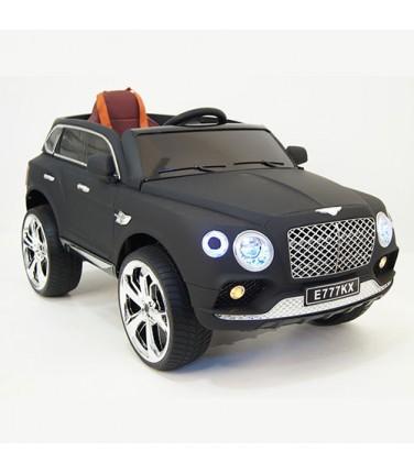 Детский электромобиль RiverToys Bentley E777KX Black | Купить, цена, отзывы