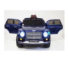 фото детского электромобиля RiverToys Bentley E777KX Blue спереди