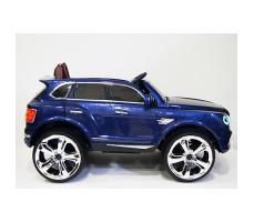 фото детского электромобиля RiverToys Bentley E777KX Blue сбоку