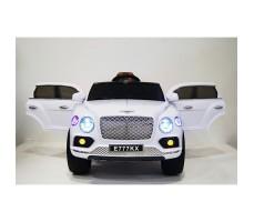 фото детского электромобиля RiverToys Bentley E777KX White спереди