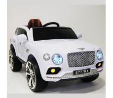 Детский электромобиль RiverToys Bentley E777KX White
