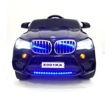 фото детского электромобиля RiverToys BMW E002KX Black спереди