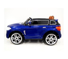 фото детского электромобиля RiverToys BMW E002KX Blue сбоку