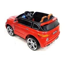 фото детского электромобиля RiverToys BMW E002KX Red сзади