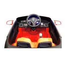 фото руля и панели приборов детского электромобиля RiverToys BMW E002KX Red