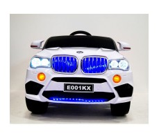 фото детского электромобиля RiverToys BMW E002KX White спереди