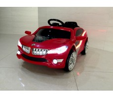 Фото электромобиля RiverToys BMW O002OO Red вид спереди