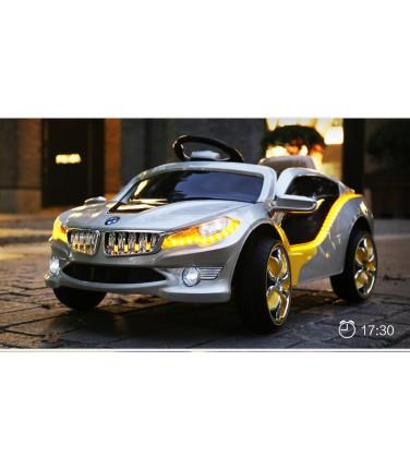 Электромобиль PBMW O002OO серебристый | Купить, цена, отзывы
