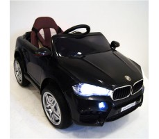 Детский электромобиль RiverToys BMW O006OO Black