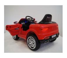 фото детского электромобиля RiverToys BMW O006OO Red сзади