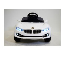 Переднее фото детского электромобиля RiverToys BMW O111OO White