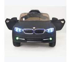 фото детского электромобиля RiverToys BMW P333BP Black спереди