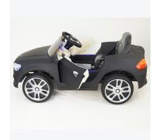 фото детского электромобиля RiverToys BMW P333BP Black сбоку