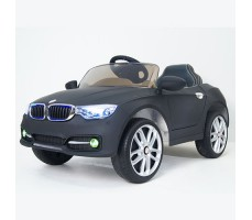Детский электромобиль RiverToys BMW P333BP Black