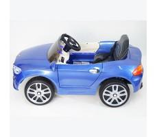 фото детского электромобиля RiverToys BMW P333BP Blue сбоку