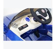 фото руля и передней панели детского электромобиля RiverToys BMW P333BP Blue