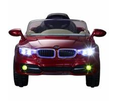фото детского электромобиля RiverToys BMW P333BP Red спереди
