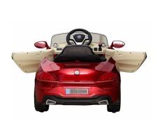 фото детского электромобиля RiverToys BMW P333BP Red сзади