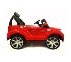 Электромобиль River Toys BMW T005TT 4x4 Red вид сбоку