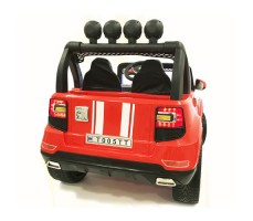 Электромобиль River Toys BMW T005TT 4x4 Red вид сзади