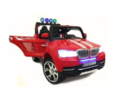 Электромобиль River Toys BMW T005TT 4x4 Red вид спереди