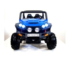 Электромобиль River Toys BUGGY T009TT Blue вид спереди