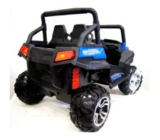 Электромобиль River Toys BUGGY T009TT Blue вид сзади
