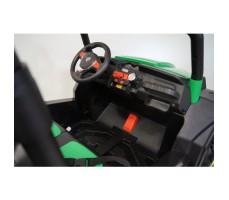 Электромобиль River Toys BUGGY T009TT Green вид на переднюю панель