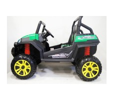 Электромобиль River Toys BUGGY T009TT Green вид сбоку