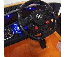 Руль детский электромобиля HUMMER E003EE Orange