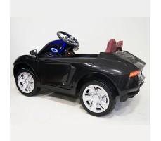 фото детского электромобиля RiverToys Е002ЕЕ Black сбоку