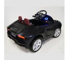 фото детского электромобиля RiverToys Е002ЕЕ Black сзади
