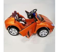 фото детского электромобиля RiverToys Е002ЕЕ Orange сбоку