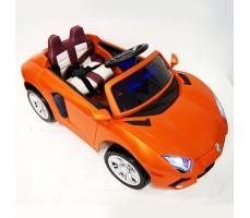 фото детского электромобиля RiverToys Е002ЕЕ Orange сверху