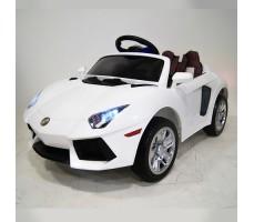 Детский электромобиль RiverToys Е002ЕЕ White