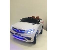 Фото электромобиля Mercedes E009KX White вид спереди