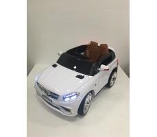 Фото электромобиля Mercedes E009KX White вид сверху