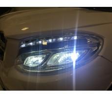 Фото фары электромобиля Mercedes E009KX White