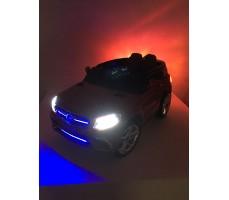 Фото световых эффектов электромобиля Mercedes E009KX White