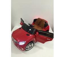 Фото электромобиля Mercedes E009KX Red с открытыми дверьми
