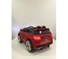 Фото электромобиля Mercedes E009KX Red вид сзади