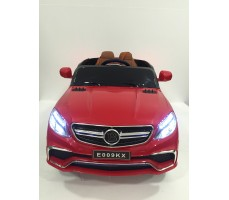 Фото электромобиля Mercedes E009KX Red вид спереди
