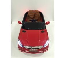 Фото электромобиля Mercedes E009KX Red вид сверху