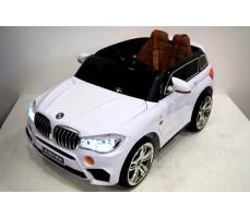 Детский электромобиль RiverToys BMW Е002КХ White