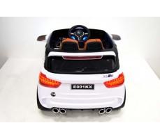 фото Детский электромобиль RiverToys BMW Е002КХ White