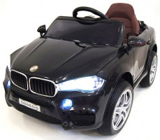 Детский электромобиль RiverToys BMW О006ОО VIP Black