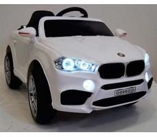 фото Детский электромобиль RiverToys BMW О006ОО VIP White