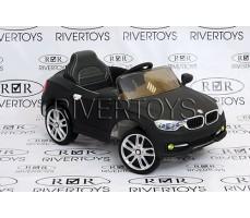 фото Детский электромобиль RiverToys BMW Р333ВР Black