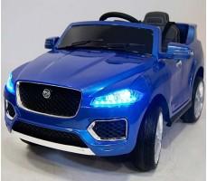 Детский электромобиль RiverToys Jaguar Р111ВР Blue